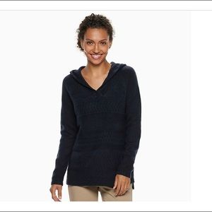 Sonoma, The Super-soft Sweater with hoodie, Navy